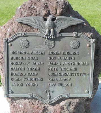 Dorris Veterans Memorial Marker image. Click for full size.