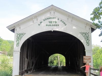 Guilford Covered Bridge image. Click for full size.
