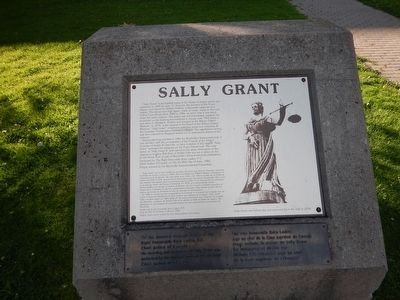 Sally Grant Marker image. Click for full size.