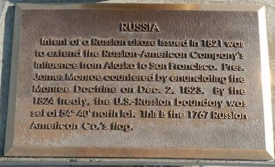 Russia Marker image. Click for full size.