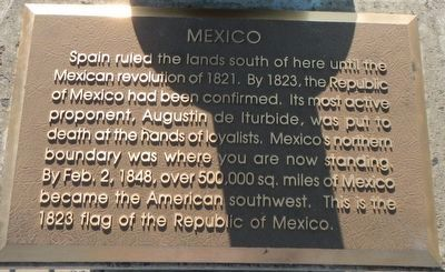 Mexico Marker image. Click for full size.