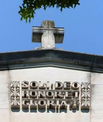 Soli Deo<br>Honor et<br>Gloria image. Click for full size.