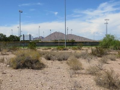 <i>Location of:</i> Papago Park Prisoner Of War Camp Marker image. Click for full size.