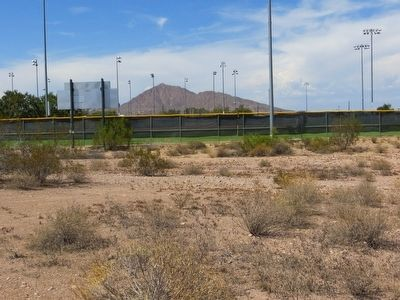 <i>Location of</i> Papago Park Prisoner Of War Camp Marker image. Click for full size.
