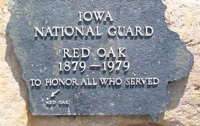 Iowa National Guard Memorial image. Click for full size.