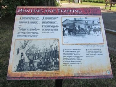 Hunting and Trapping Marker image. Click for full size.