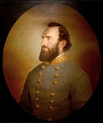 "Thomas Jonathan ""Stonewall"" Jackson image. Click for full size."