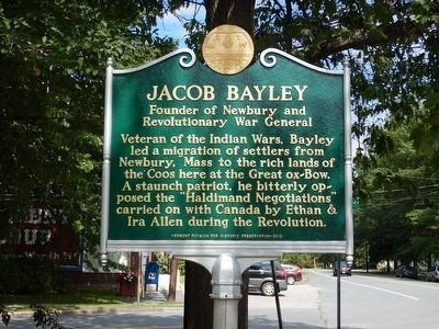 Jacob Bayley Marker image. Click for full size.