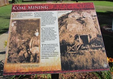 Coal Mining Marker image. Click for full size.
