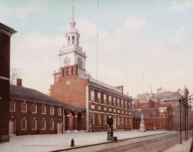 <i>Independence Hall, Philadelphia.</i> image. Click for full size.