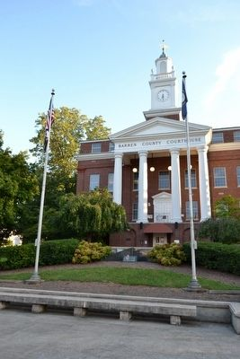Barren County Courthouse image. Click for full size.