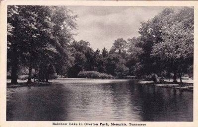 <i>Rainbow Lake in Overton Park, Memphis, Tenn.</i> image. Click for full size.