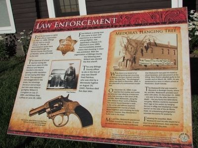 Law Enforcement Marker image. Click for full size.
