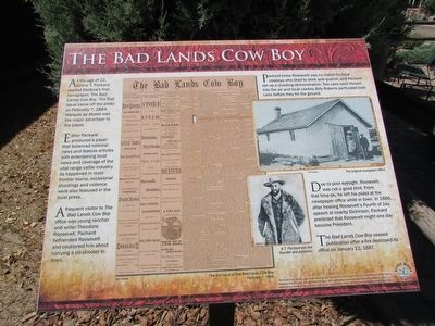 The Bad Lands Cow Boy Marker image. Click for full size.