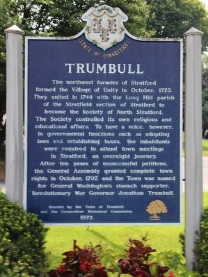 Trumbull Marker image. Click for full size.