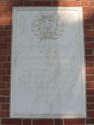 Eno Memorial Hall Marker image. Click for full size.