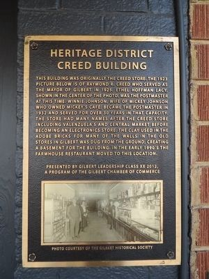 Creed Building Marker image. Click for full size.