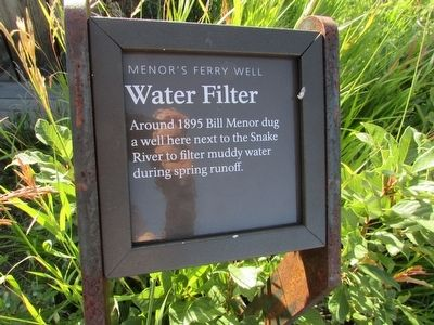 Water Filter Marker image. Click for full size.