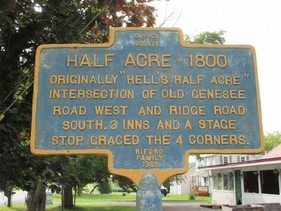 Half Acre * 1800 Marker image. Click for full size.