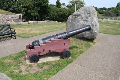 Revolutionary War Cannon Marker image. Click for full size.