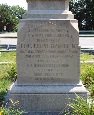 General Joseph Stanton Jr. Marker image. Click for full size.