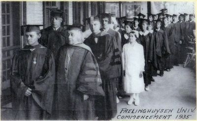 Frelinghuysen University Commencement image. Click for full size.