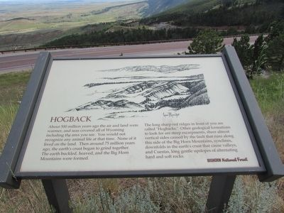Hogback Marker image. Click for full size.