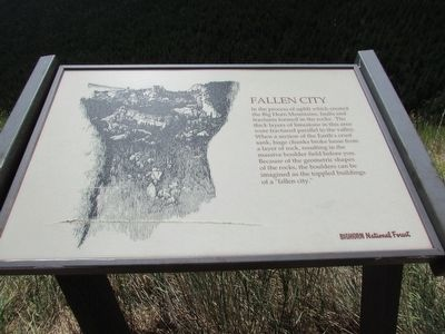 Fallen City Marker image. Click for full size.