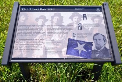 The Texas Rangers Marker image. Click for full size.