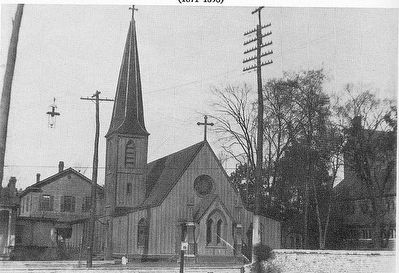 """Original church building, St. Mary's Episcopal Cathedral, Memphis""- St. Mary's Episcopal Cathedral image. Click for full size."