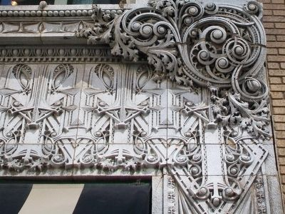 Scarritt Arcade Terra Cotta Detail image. Click for full size.