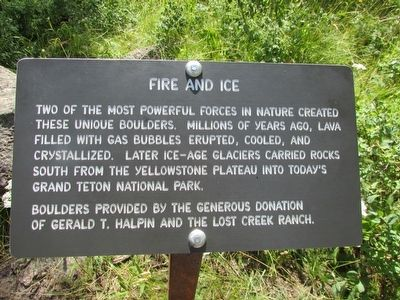 Fire and Ice Marker image. Click for full size.