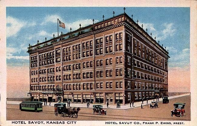 <i>Hotel Savoy, Kansas City</i> image. Click for full size.