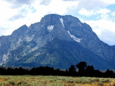 Mount Moran seen from the Marker image. Click for full size.
