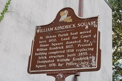William Kendrick Square Marker image. Click for full size.