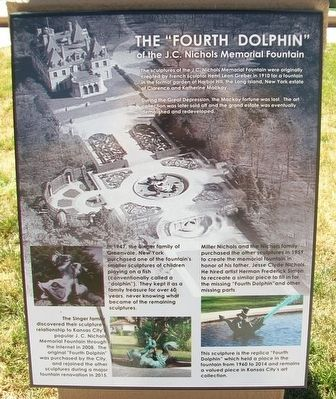 "The ""Fourth Dolphin"" Marker image. Click for full size."