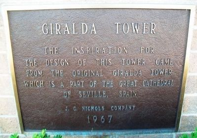 Giralda Tower Marker image. Click for full size.