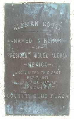Aleman Court Marker image. Click for full size.