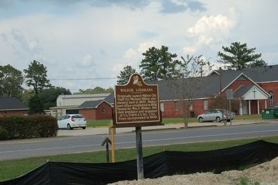 Walker, Louisiana Marker image. Click for full size.
