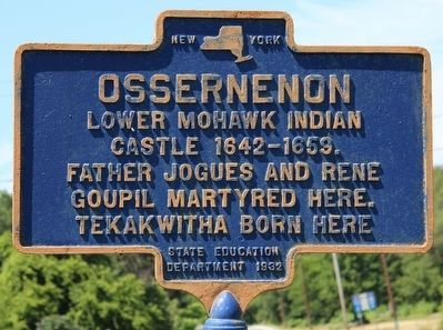 Ossernenon Marker image. Click for full size.