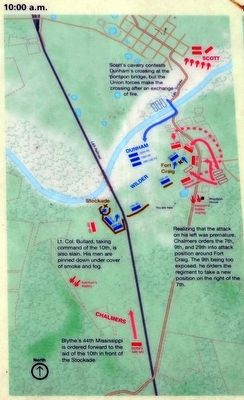 Troop Positions and Actions, 10:00 a.m. image. Click for full size.