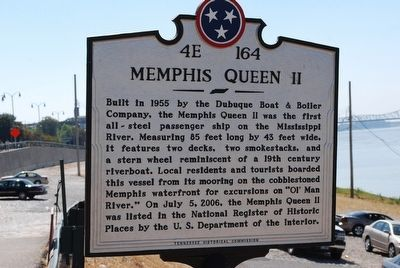 Memphis Queen II Marker image. Click for full size.