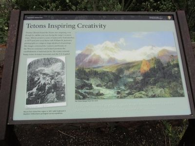 Tetons Inspiring Creativity Marker image. Click for full size.