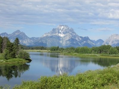 Mount Moran image. Click for full size.