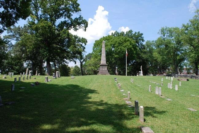 Chattanooga Confederate Cemetery image. Click for full size.