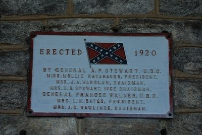 Confederate Pavilion Marker image. Click for full size.
