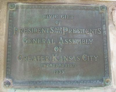 Presidents and Past Presidents General Assembly of Greater Kansas City, Inc. Marker image. Click for full size.