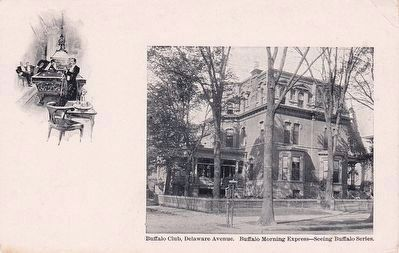 <i>Buffalo Club, Delaware Avenue</i> image. Click for full size.