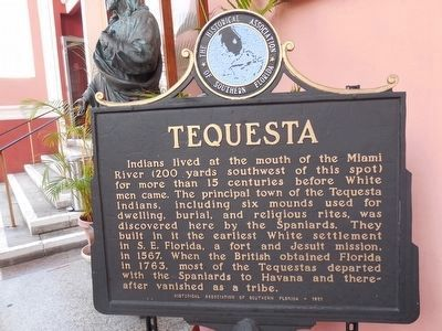 Tequesta Marker image. Click for full size.