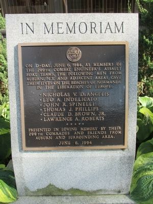 In Memoriam - 299th Combat Engineers image. Click for full size.